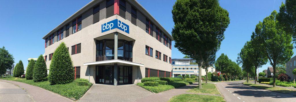BBP logo gebouw
